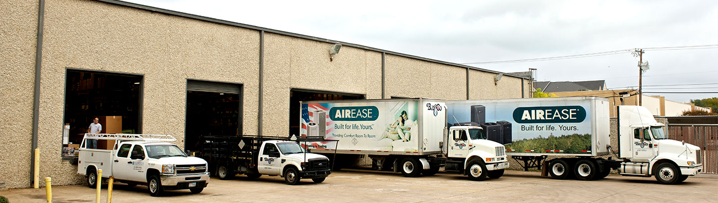 Barsco trucks serving central Texas
